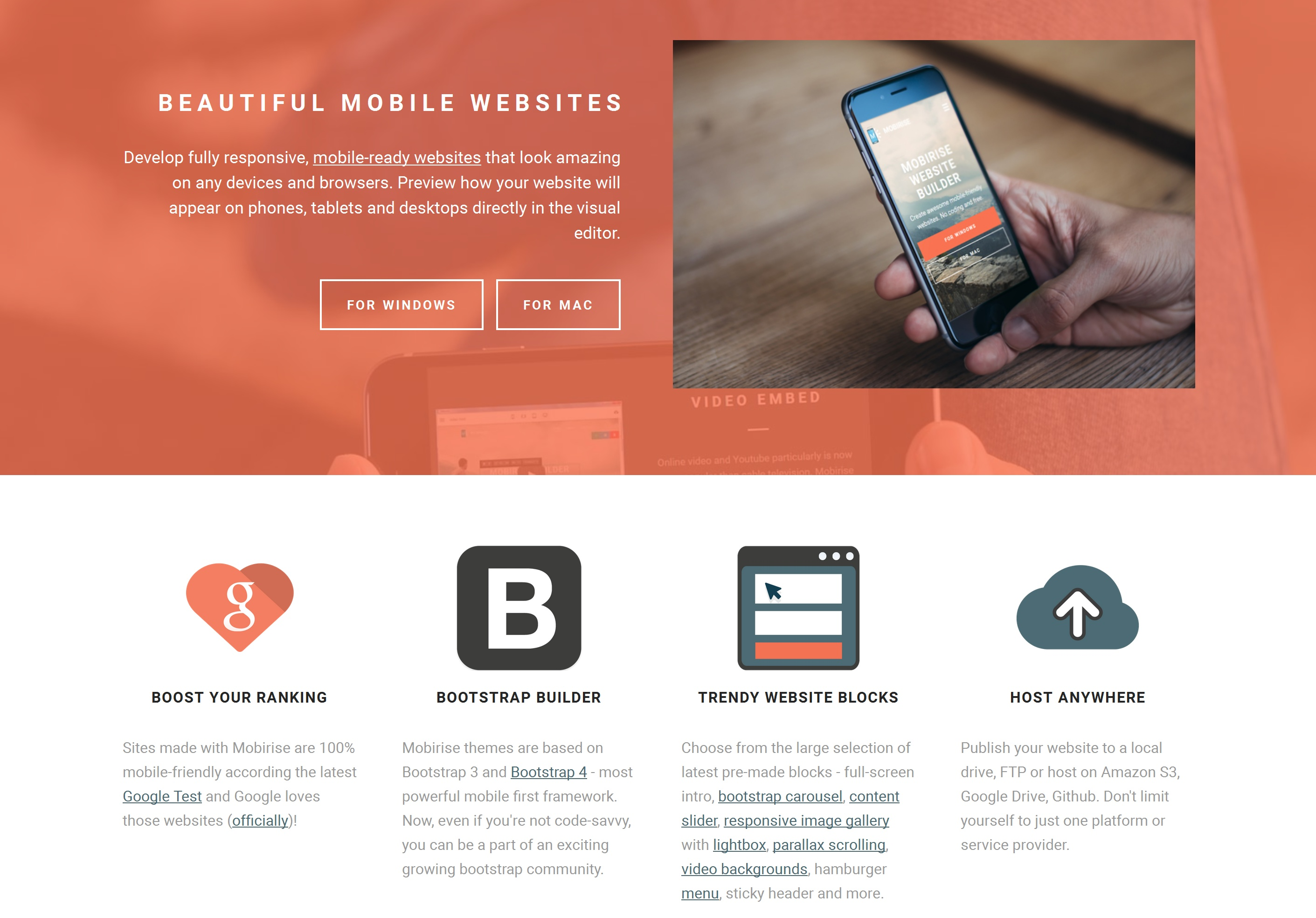 Easy Mobile Website Generator