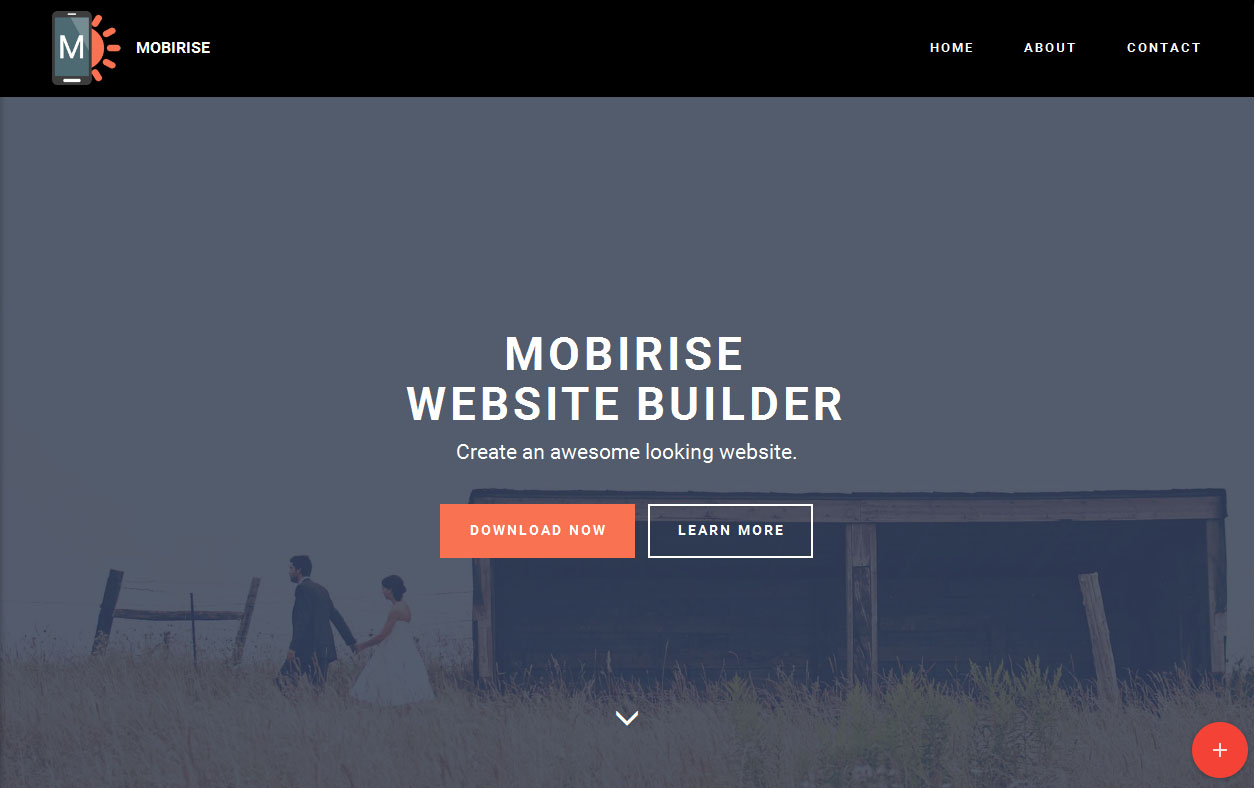 website builders of  mobirise website builder is an offline program for window and mac to easily create small medium websites landing pages on line resumes and portfolios