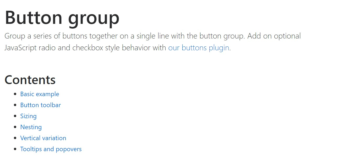 Bootstrap button group  approved  documents