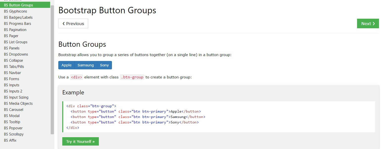 Bootstrap Button groups active