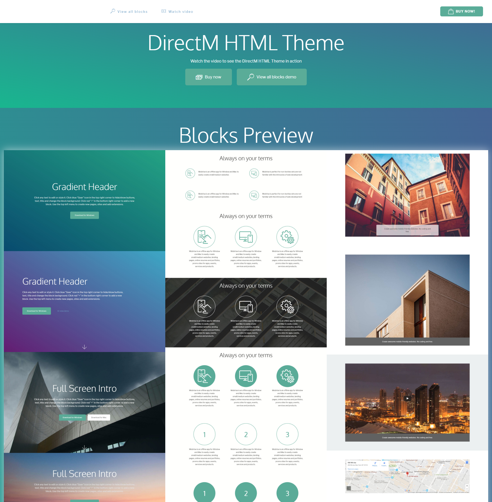 Free Bootstrap DirectM Themes