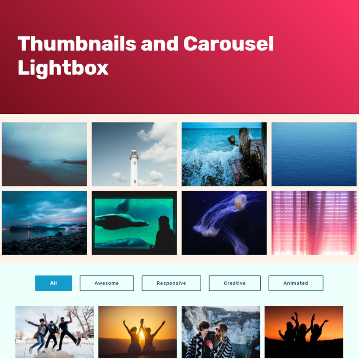 CSS3 Bootstrap Image Slideshow