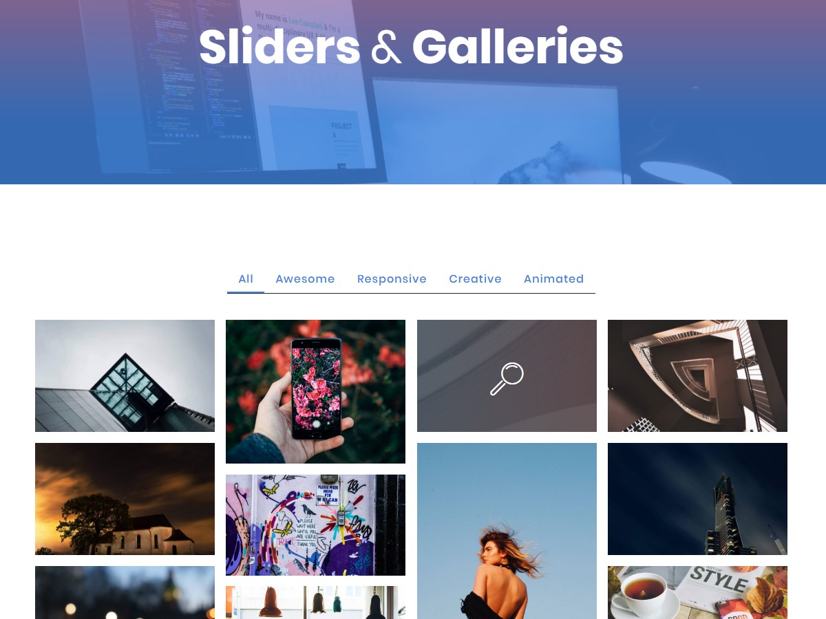 Top 53 Innovative and Creative Responsive Templates Compilation