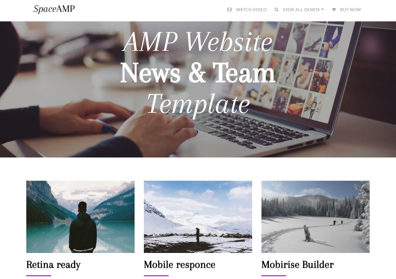 AMP Website