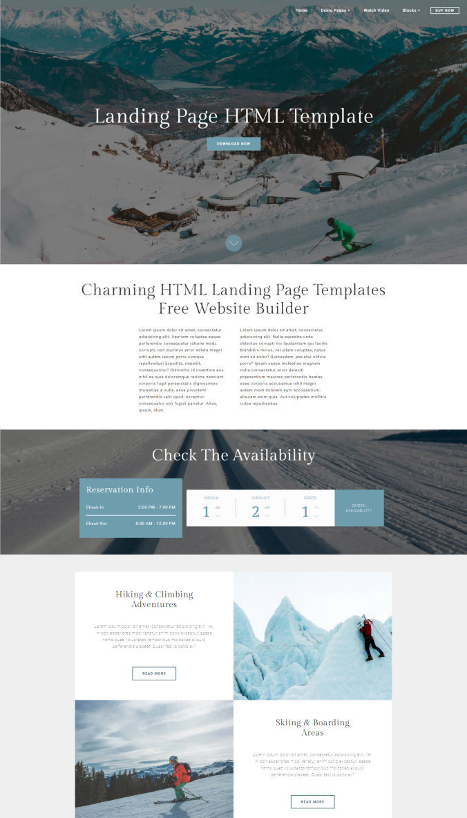Travel Adaptive Templates