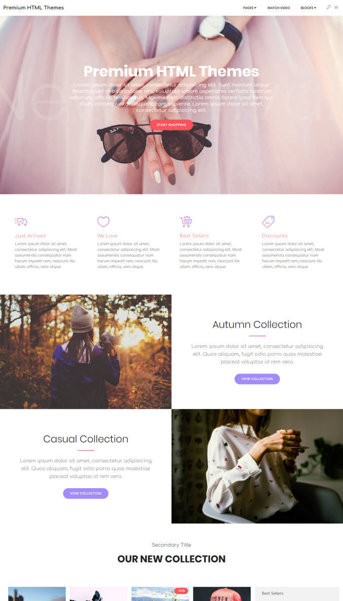 Wonderful Website Templates